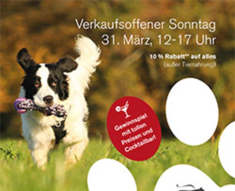 Verkaufsoffener Sonntag im Hundsladen